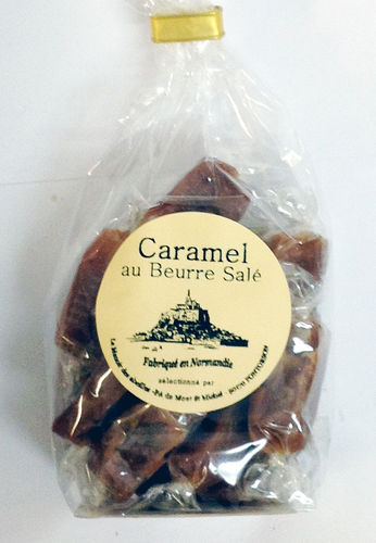 bag of nougat or caramel 200g