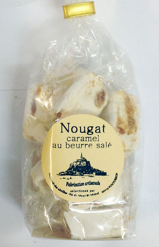 bag of caramel or nougat 100g