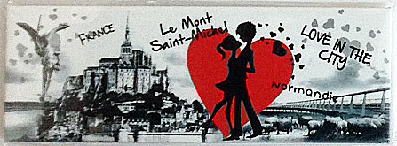 Magnet panoramique love in the city